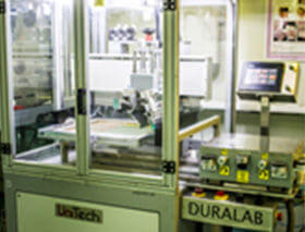 UnitTech Duralab Screen Printer